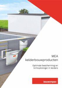 Brochure Mea Kelderbouwproducten